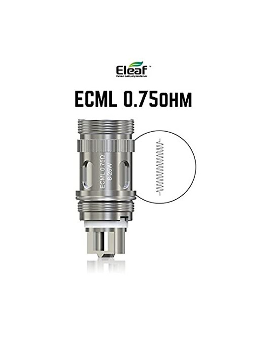 Eleaf head coil melo ECML 0,75 ohm - svapo-one