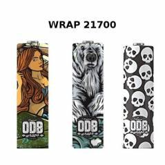 """Guaina """"Wrap"""" termorestringente in PVC per batterie 20700/21700"""