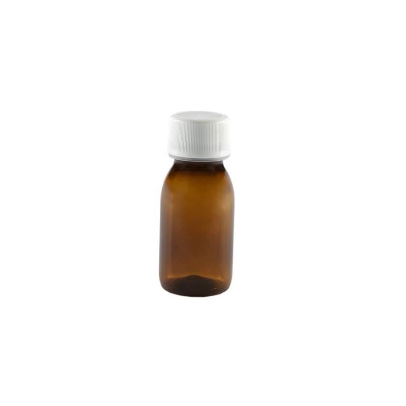 Flaconi vuoti in vetro ambrato 30 ml