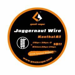 GeekVape Juggernaut Wire 28GA+38GAx2+Ribbon38GAx24GA 3 mt