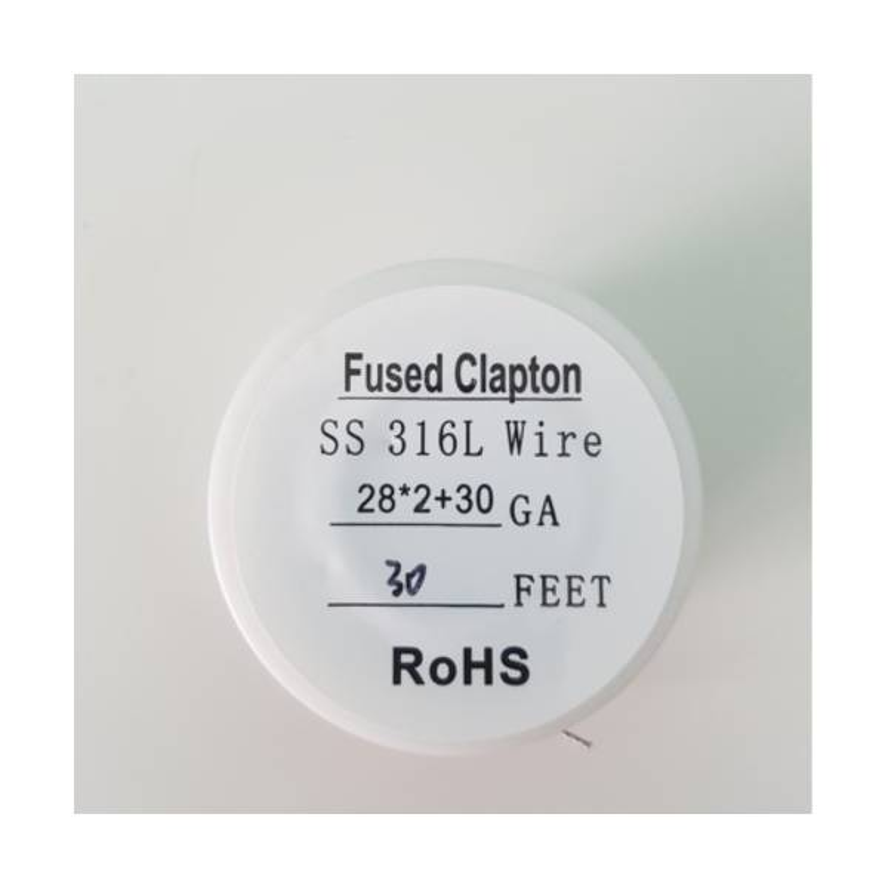 Rocchetto Fused Clapton Wire 28GA*2 + 30 GA