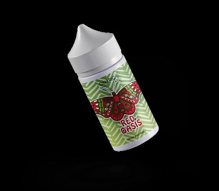 Red Oasis, liquido svapo fruttato mentolato con Anguria e Menta.